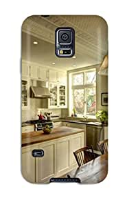 Galaxy S5 Hard Back With Bumper Silicone Gel Tpu Case Cover Fresh Farmhouse Kitchen