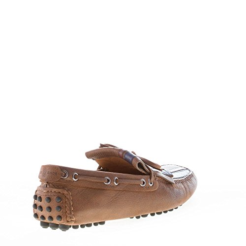 D0676 loafer shoe uomo CAR Marrone man mocassino SHOE scarpa marrone ZqrZYpOxw