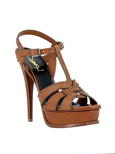 Laurent Leather Women's 515636bdarr2206 Sandals Saint Brown dwIqdR