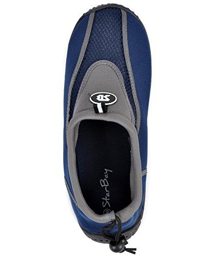 Mens Aqua Shoe Grey GFbq9E