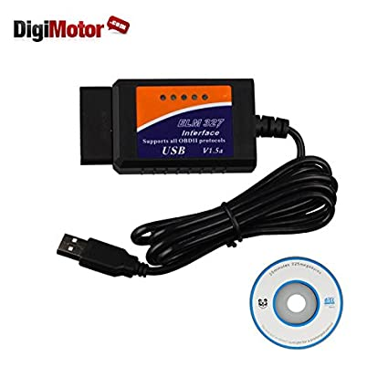 Car Scanner USB software OBD2 EOBD CAN-BUS Diagnostic Scanner Tool