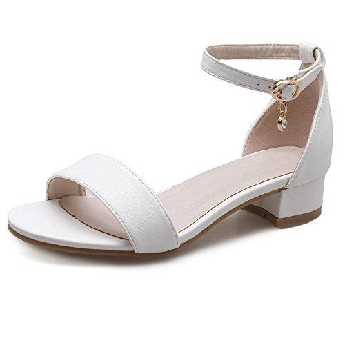 LI Mujer heelsWomen Alta el tal Planas Boho BAJIAN Verano bajo Sandalias Sandalias dxq6xI