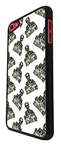 1116 - Cool funny zombie walking dead will work for brains scary Design For Apple ipod Touch 6 Fashion Trend CASE Back COVER Plastic&Thin Metal - Black