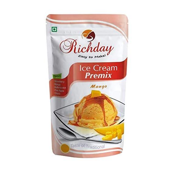 Richday Mango Ice Cream Premix, 500gm