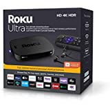 Roku Ultra | Streaming Media Player 4K/HD/HDR with Premium JBL Headphones