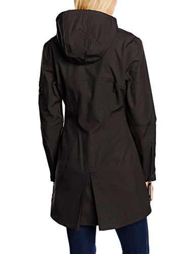 Ilse Jacobsen Rain07-001, Impermeable para Mujer Negro