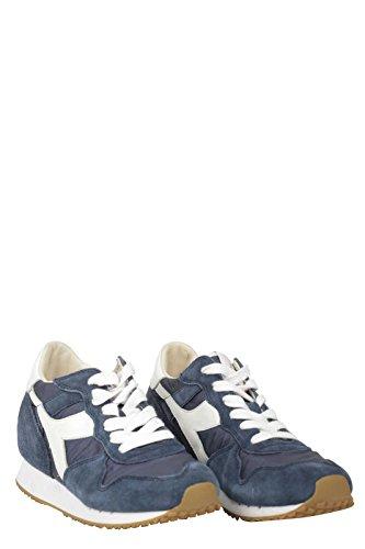 Diadora Heritage Drietand Woman60033 Sneaker Met Blauwe Binnenkant Opkomst 36.5 Vrouw