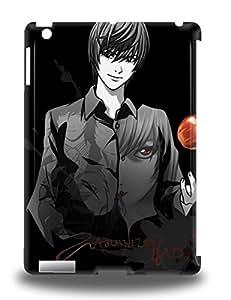 Fashionable Ipad Air 3D PC Case Cover For Japanese Death Note Protective 3D PC Case ( Custom Picture iPhone 6, iPhone 6 PLUS, iPhone 5, iPhone 5S, iPhone 5C, iPhone 4, iPhone 4S,Galaxy S6,Galaxy S5,Galaxy S4,Galaxy S3,Note 3,iPad Mini-Mini 2,iPad Air )