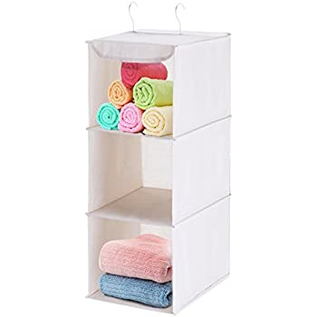 MaidMAX Hanging Shelf Closet Organizer For Home Bedroom Wardrobe Clothes  Shoe Towel Sweater Accessory Unit Storage