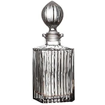 how to clean old crystal decanter