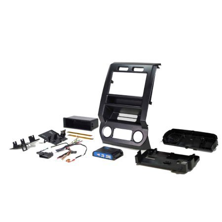 PAC Audio Integrated Installation Kit 2015-2017 Ford F150 And F250 by PAC
