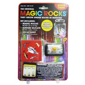 MAGIC ROCKS SHARK (Smithsonian Magic Rocks)