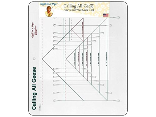 (Quilt In A Day Ruler Calling All Geese QuiltInADayRulerCallngAllGeese)