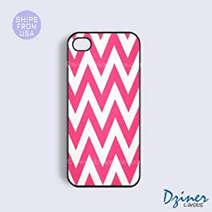 iPhone 6 Plus Tough Case - 5.5 inch model - Pink Chevron iPhone Cover