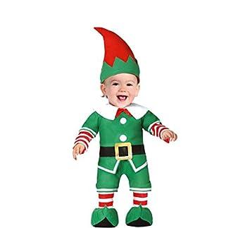 FIESTAS GUIRCA Disfraz de Elfo ayudante ayudando a Santa Claus ...