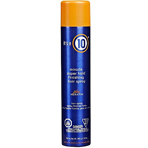 iracle Super Hold Finishing Hair Spray Plus Keratin, 10 fl. oz. ()