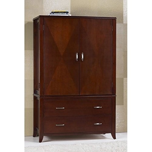 Modus Furniture BR1585 Brighton Armoire Cinnamon by Modus