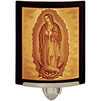 Religious Night Light Our Lady Guadalupe Jesus Night
