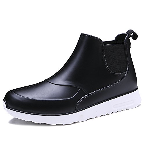 Image of TONGPU Men's Slip ONS Waterproof Footwear Fashion Rain Boots
