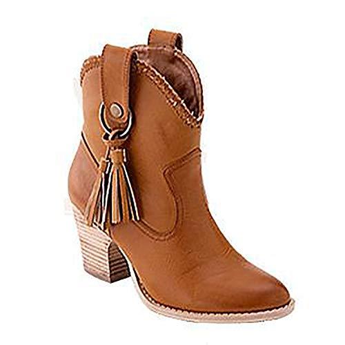 on da con Split peluche zeppa impermeabile Slip Fringe pelle donna corta scarpe in tacco con Martin arancione Platform Stivali invernali 5q4x0