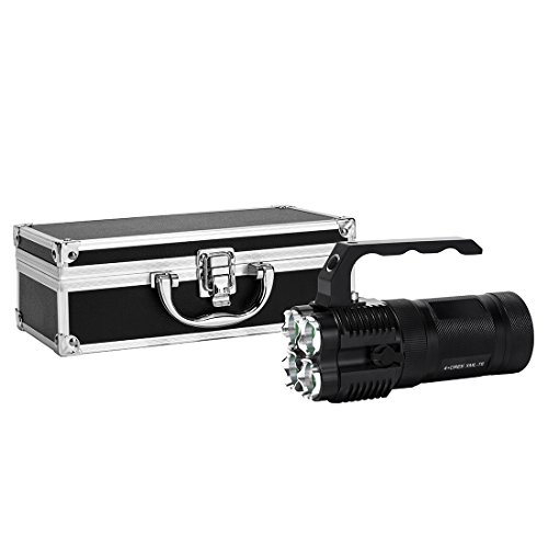 VIENNAGE Worlds Brightest 4000 Lumen High Power LED Rechargeable Spotlight - Portable and Easy to Ca - http://coolthings.us