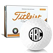 Titleist Velocity Double Digit Monogram Personalized Golf Balls