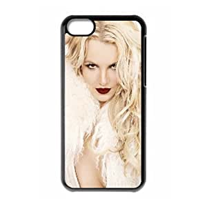 LJF phone case C-EUR Print Britney Spears Pattern Hard Case for iPhone 5C