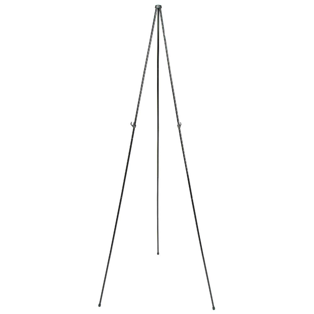 Quartet Easel, Instant, Portable, Tripod, Base 63'' Max. Height, Supports 5 lbs. (29E)