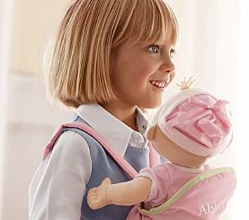 Amazon.com: Cerámica Barn Kids Baby Doll Carrier: Baby