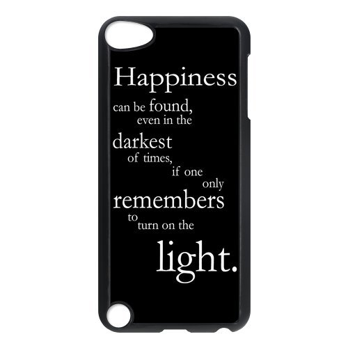 LeonardCustom Harry Potter Inspirational Quotes Hardshell Slim Cover Case for iPod Touch 5 (5th Generation)