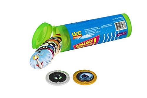 Pog Retro Kaps Green Storage Tube Starter Set Game Includes: 20 Pogs & 2 Exclusive Slammers