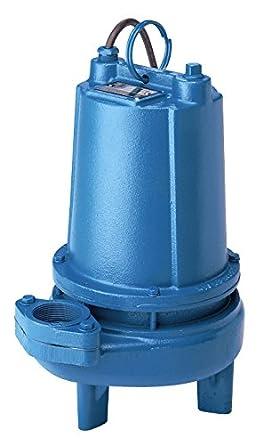 1//2 hp 120V 20 Cord Single Seal 38 Head Barnes 104970 Model 2SEV512L Sewage Pump 1 Phase Manual 110 GPM 2 NPT Vertical Flanged