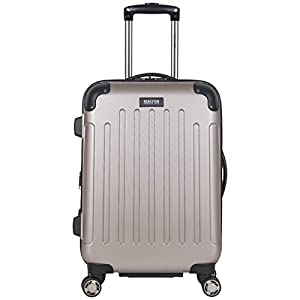 """Kenneth Cole Reaction Renegade 20"""" Carry-On Luggage Lightweight Hardside Expandable 8-Wheel Spinner Travel Cabin…"""