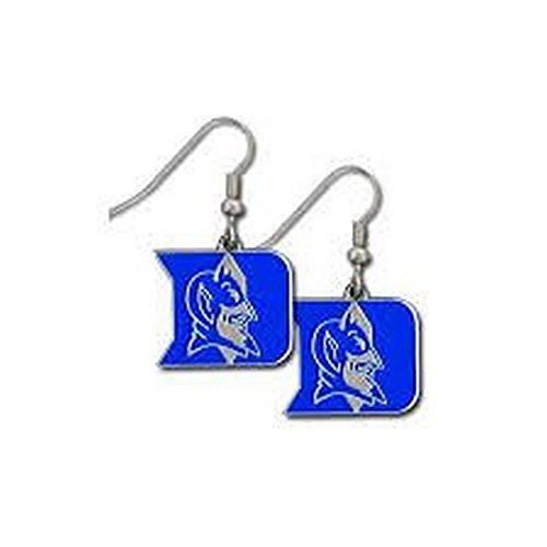 Siskiyou NCAA Officially Licensed Logo Dangle Earrings (Duke Blue Devils)