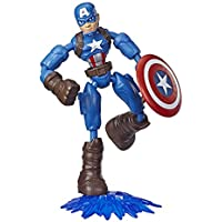 Avengers Marvel Bend & Flex Captain America Action Figure
