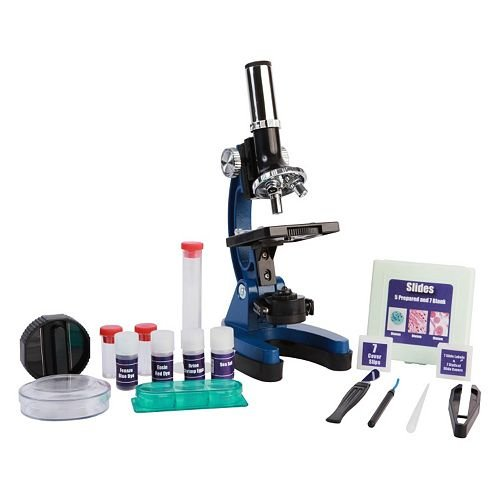 Discovery Kids 900X Biological Microscope with Carrying Case