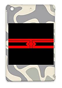 3TE Scratch-resistant Red Miscellaneous Music Protective Hard Case For Ipad Mini