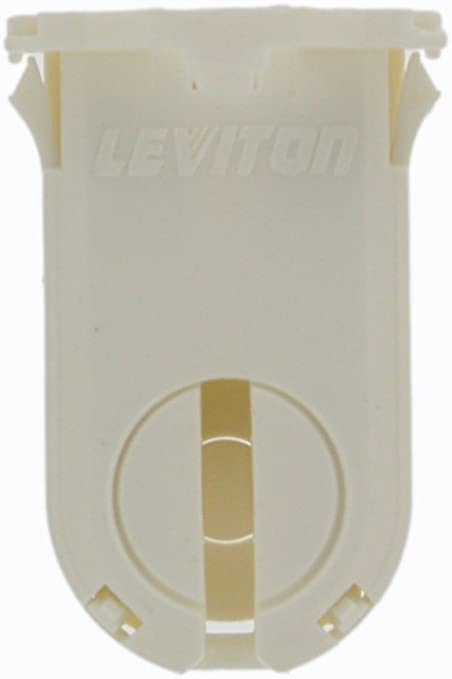 New Leviton T8 T12 Lot of 100 23660 Fluorescent Lampholders Tombstone