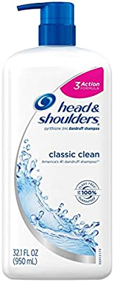 Head & Shoulders Classic Clean Anti-dandruff Shampoo 32.1 Fl Oz, 2.49 Pound