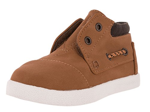 Youth Wheat Nubuck Kids Shoes (TOMS Toddlers Tiny Bimini High Wheat Nubuck Casual Shoe 11 Infants US)