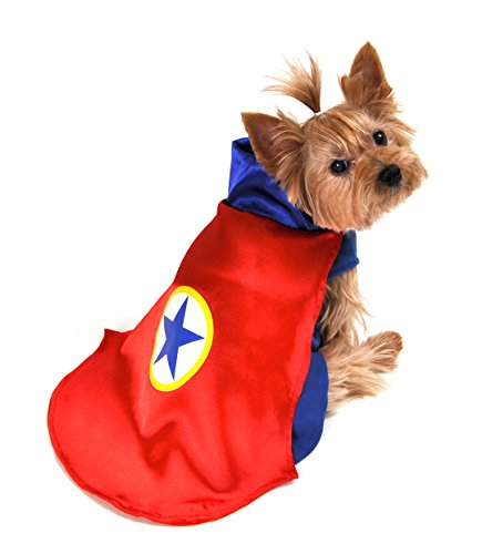 Anit Accessories AP1090-XS Superhero Dog Costume, Red (Xs Costumes)