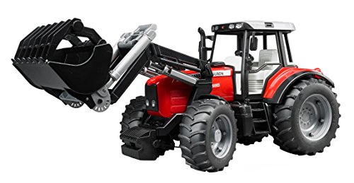 Massey Ferguson 7480 with frontloader from Bruder Toys