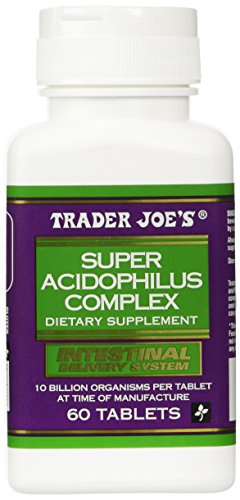 Cheap Trader Joe's Super Acidophilus Complex, 60 Tablets, 10 Billion Organisms Per Tablet (At Time Of Manufacture)