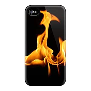 Awesome WGm41516IsKP Luoxunmobile333 Defender Hard Samsung Galaxy S5 I9600/G9006/G9008 - Abstract Nature Fire