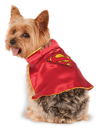 [DC Comics Super Girl Pet Cape, X-Large] (Dog Superman Costume Xl)