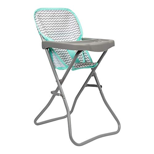 Adora Baby Doll Accessories Zig Zag High Chair, 20.5 inches in Height, Can Fit Up to 16 inch Dolls, Gender Neutral Design