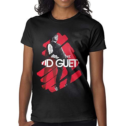 BowersJ David Guetta Women's Tshirts Black S (Best Memories David Guetta)
