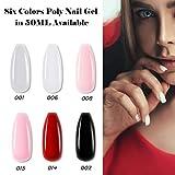 Makartt Nail Extension Gel Clear Builder Gel Nail