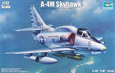 Trumpeter 1/32 A4M Skyhawk Carrier Launched Ground Attack Aircraft Model Kit