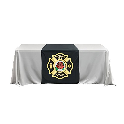 Wholesale-Displays Table Throw Cover Runner Custom Print Dye sublimation 30